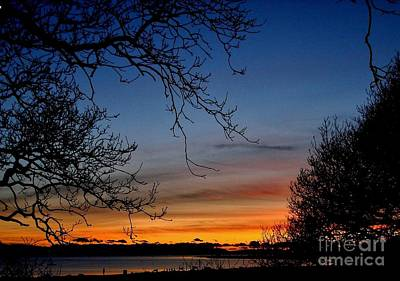 Photograph - Whitecliff Sunset by Katy Mei