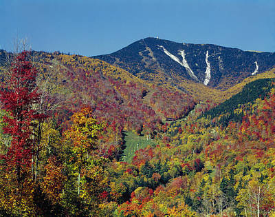 Photograph - 131710-whiteface Mountain  by Ed  Cooper Photography