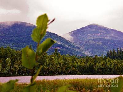 Photograph - Whiteface Mountain In The Clouds 1 by Judy Via-Wolff