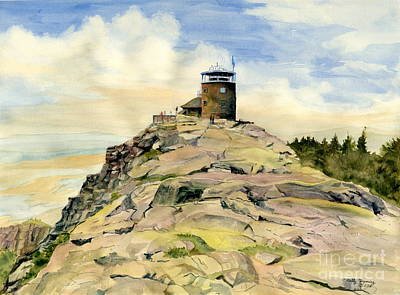 Painting - Whiteface Mountain Ny by Melly Terpening