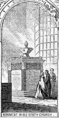 Methodists Painting - Whitefield Monument by Granger