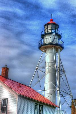 Gordon Lightfoot Photograph - Whitefish Point Light by Randy Pollard