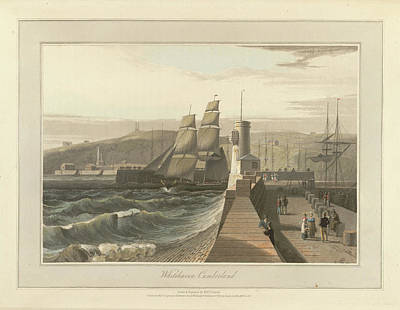 Summer Isles Photograph - Whitehaven Port In Cumberland by British Library