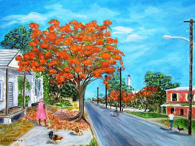 Painting - Whitehead Street by Linda Cabrera