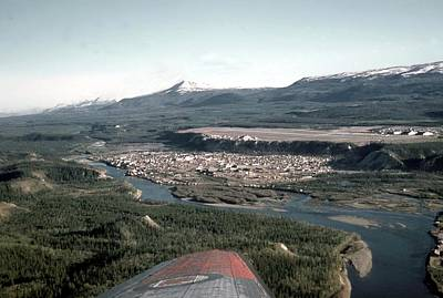 Photograph - Whitehorse In 1955 by George Cousins