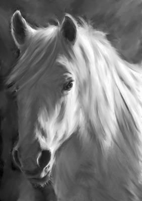 Whitehorse Art Print