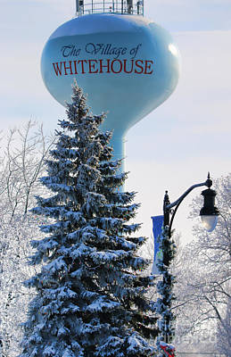Whitehouse Water Tower  7361 Art Print