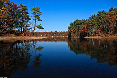 Concord Massachusetts Photograph - Whites Pond by Corey Sheehan