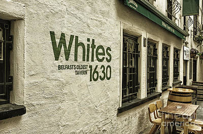Photograph - Whites Tavern by Jim Orr