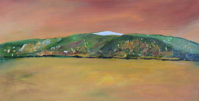 Painting - Whitetop Mountain by Teresa Tilley