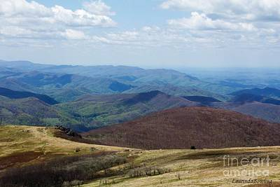 Whitetop Mountain Virginia Art Print by Laurinda Bowling