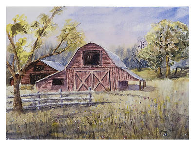 Painting - Whiteville Barn by Barry Jones