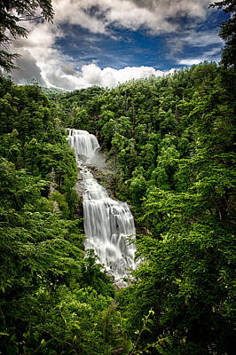 Photograph - Whitewater Falls by John Haldane