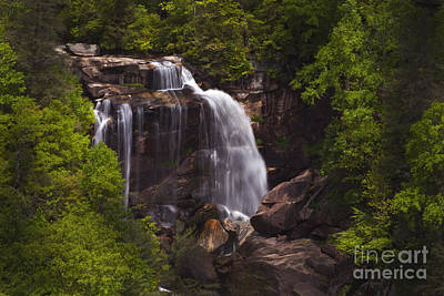 Photograph - Whitewater Falls Nc by Paul W Faust -  Impressions of Light
