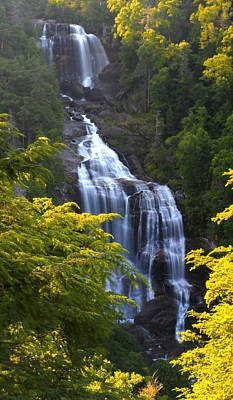 Impressionist Landscapes - Whitewater Falls by Nunweiler Photography
