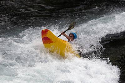 Whitewater Kayaking, The Yukon Art Print