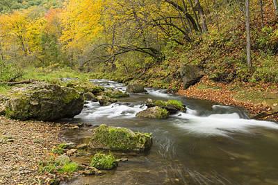 Little Mosters - Whitewater River Scene 27 by John Brueske