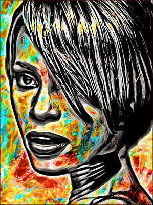 I Will Always Love You Digital Art - Whitney by Daniel Janda