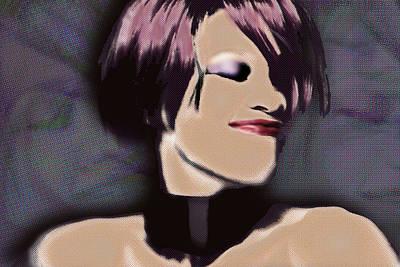 Mixed Media - Whitney Elizabeth Houston 1 by Tony Rubino