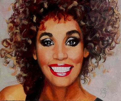 Painting - Whitney by Shirl Theis