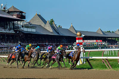 Game Of Chess - Whitney Stakes 2014 by William Stephen