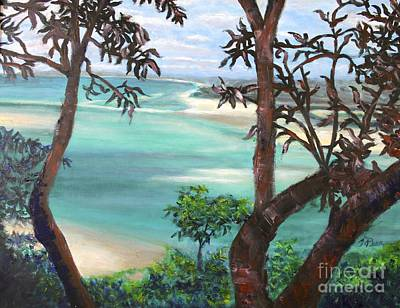Painting - Whitsunday Blues by Tracey Peer