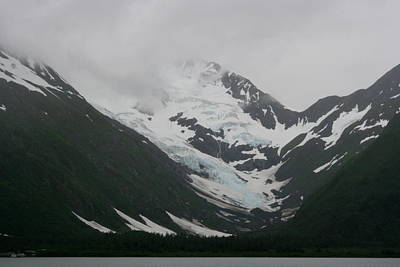 Photograph - Whittier Glacier by Betty-Anne McDonald