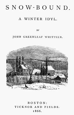 Book Title Painting - Whittier Snow-bound by Granger