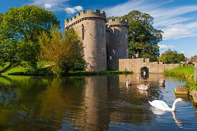 Whittington Castle Art Print by David Ross
