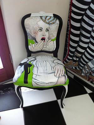 Who Chairs Art Print