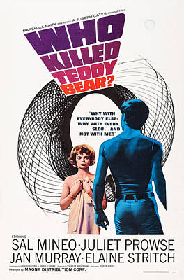 Covering Up Photograph - Who Killed Teddy Bear, Us Poster Art by Everett