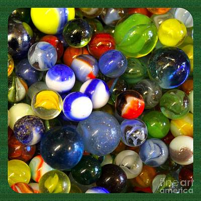 Photograph - Who Lost Their Marbles by Steven Parker