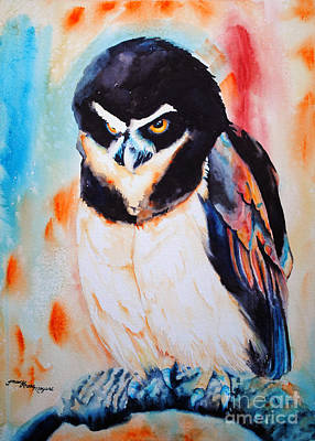 Painting - Who by Tracy Rose Moyers
