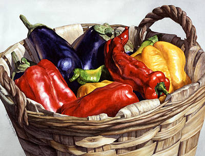Painting - Who Wants To Blister The Peppers by Lynda Hoffman-Snodgrass