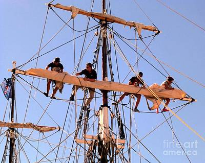 Photograph - Who Was That Mast Man by Barbie Corbett-Newmin