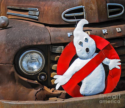 Ghost Busters Photograph - Who Ya Gonna Call? by Lorenz Klug