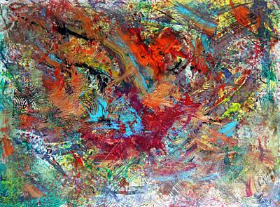 Encaustic Painting - Whom by Robert W Dunlap