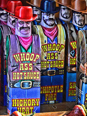 Photograph - Whoop Ass Hot Sauce by EricaMaxine  Price