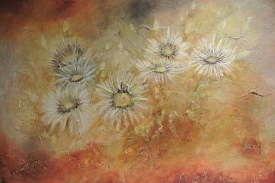 Painting - Whoopsy Daisies by Tamara Bettencourt