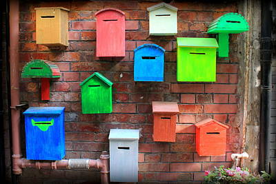Keep In Touch Photograph - Who's Got Mail by Heidi Becker