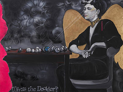 Painting - Who's The Decider? by Darlene Graeser