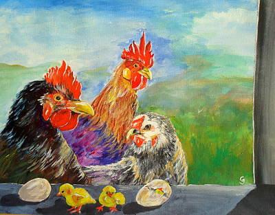 Whose Egg Isthat Art Print