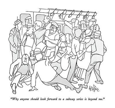 Why Anyone Should Look Forward To A Subway Series Art Print