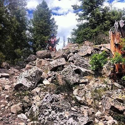 Mtb Photograph - Why Are You #walking ?  #hikeabike by Andrew Wilz