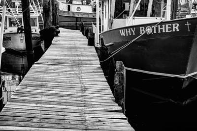 Why Bother Art Print by JC Findley