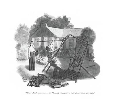 Swing Drawing - Why Don't You Forget by Richard Decker