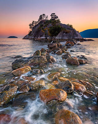 Vancouver Photograph - Whyte Islet by Alexis Birkill