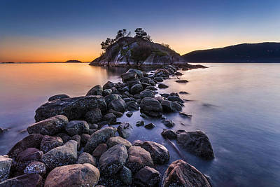 Photograph - Whytecliff Park Vancouver At Sunset by Pierre Leclerc Photography