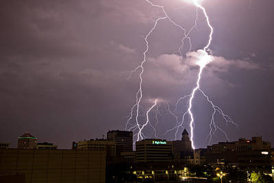 Photograph - Wichita Lightning by Brandon  Ivey