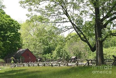 Photograph - Wick Farm At Jockey Hollow by Living Color Photography Lorraine Lynch